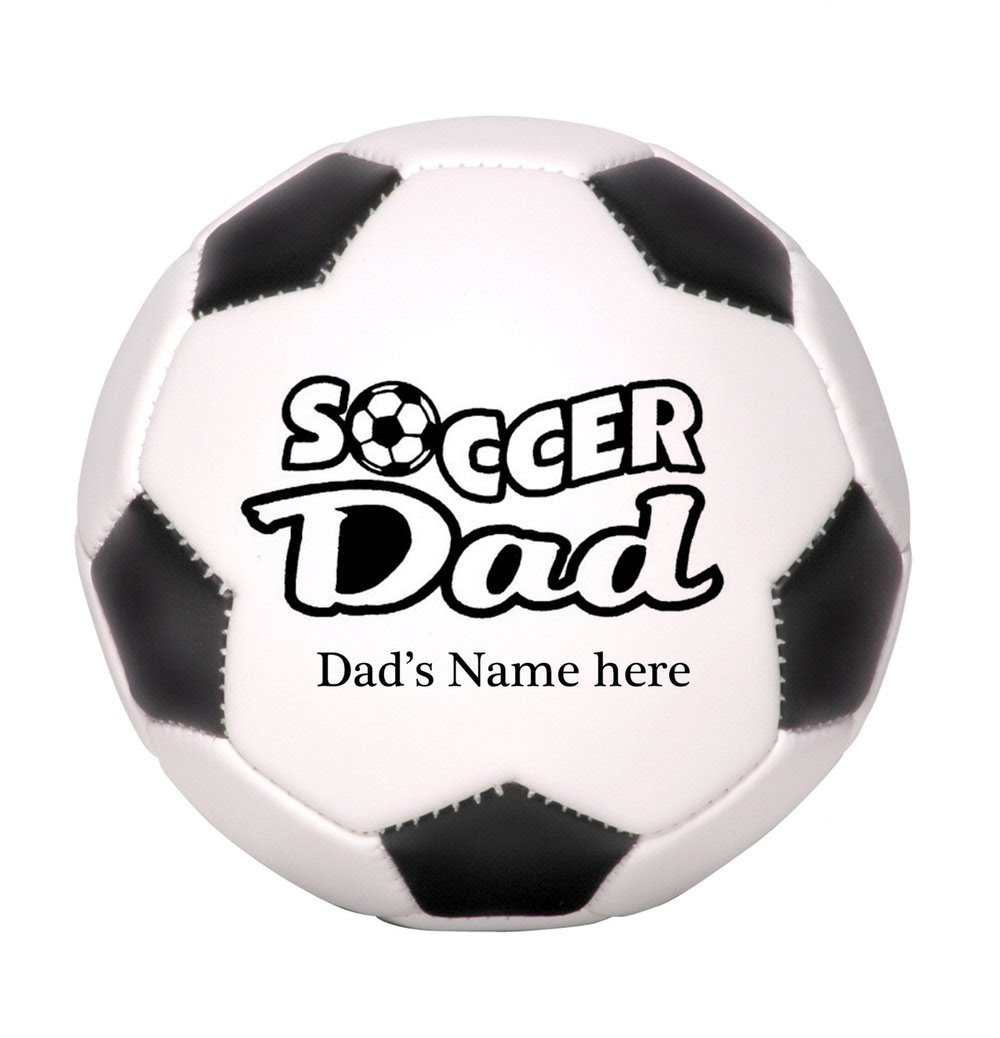 Photoball Personalized Soccer Dad Ball Free Shipping