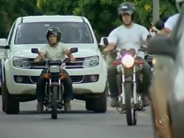 motocicleta (Foto: Reprodução/TV TEM)