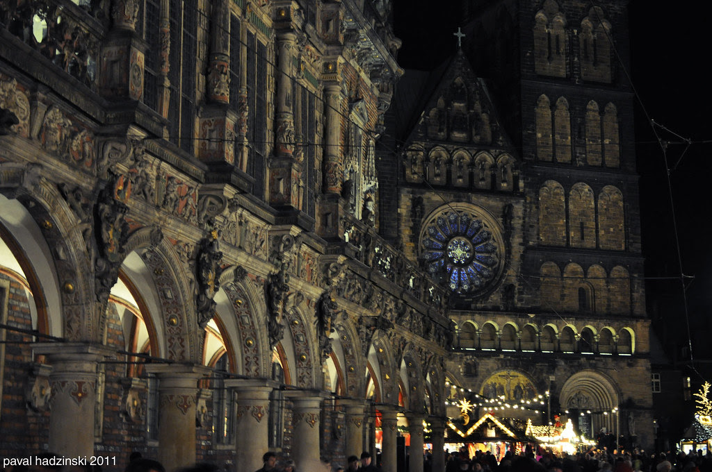 Bremen | 80. St. Petri Dom. Merry Christmas, friends