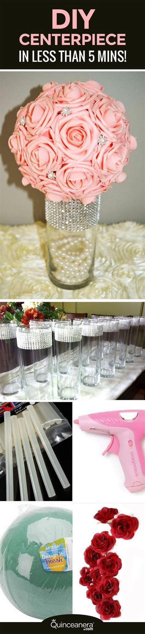 Awesome DIY Wedding Centerpiece Ideas & Tutorials