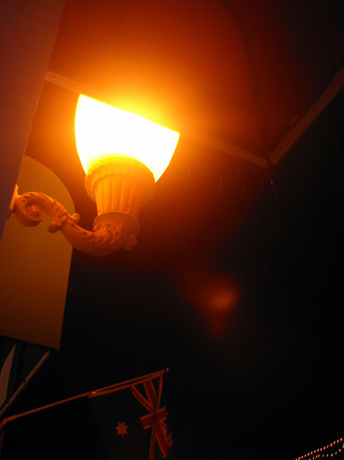 lamp on Main Street, Park City, Utah