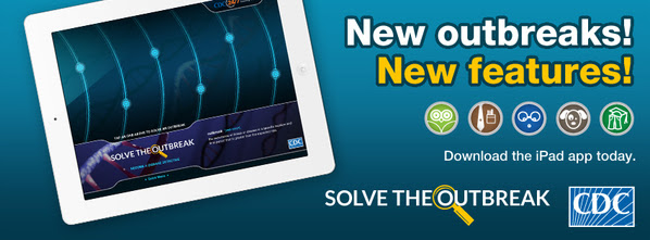 Exciting Updates to CDC's Solve the Outbreak iPad App