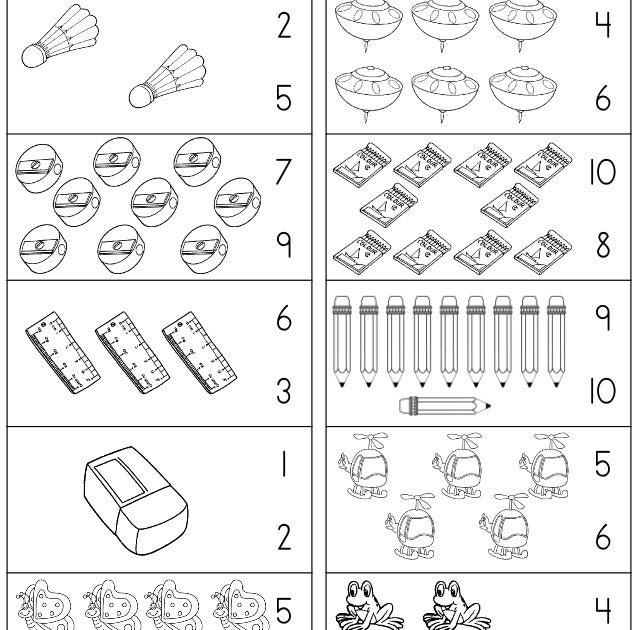 Contoh Soalan Latihan Matematik Prasekolah Soalan Bz