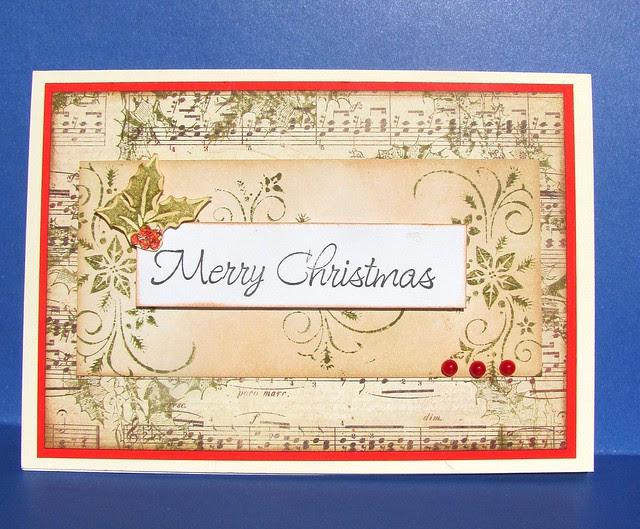 Vintage Music Christmas