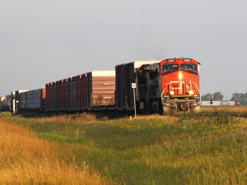 CN 2202 near Winnipeg