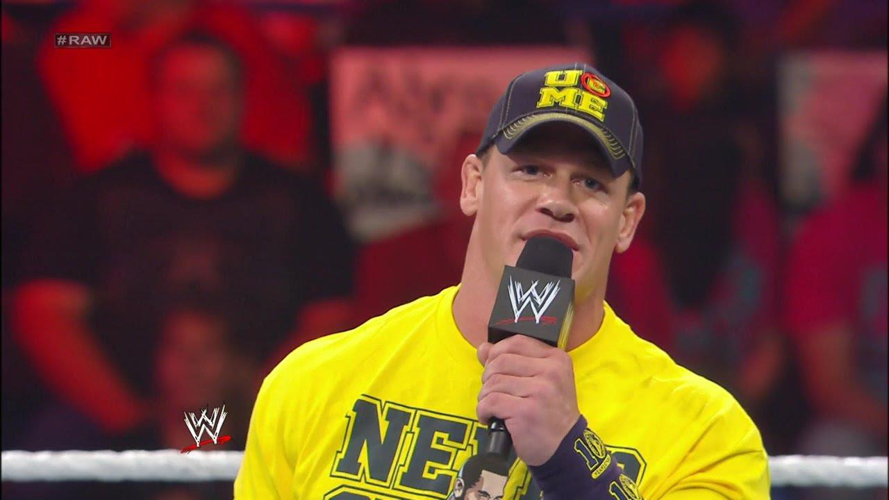 John Cena na liście 50 najlepszych ludzi przy mikrofonie