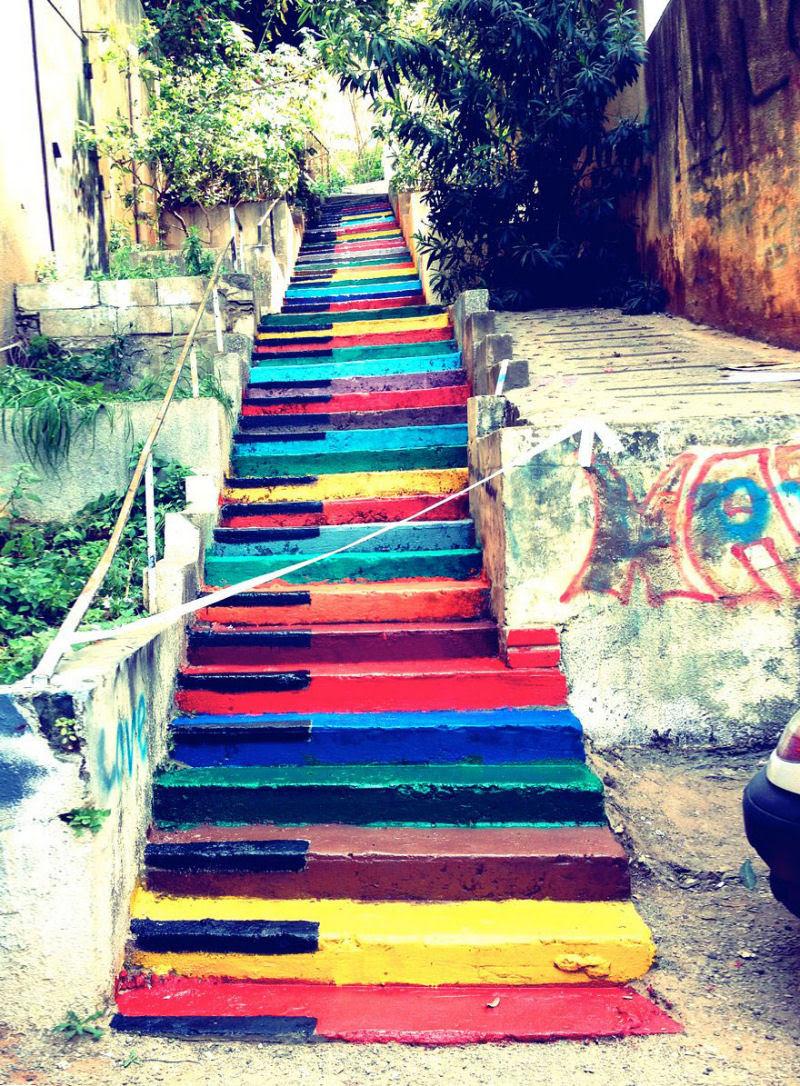 17 escadarias com as mais belas decorações urbanas do mundo 10