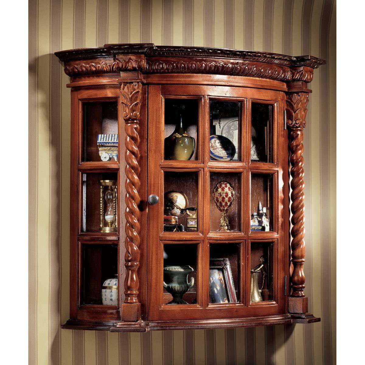 Antique Wall Curio Cabinets