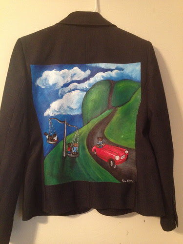 """""""The Landscape of a Life"""" a jacket for Donna Cryer"""
