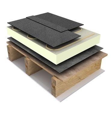 Brick Slips Installation Roof Membrane