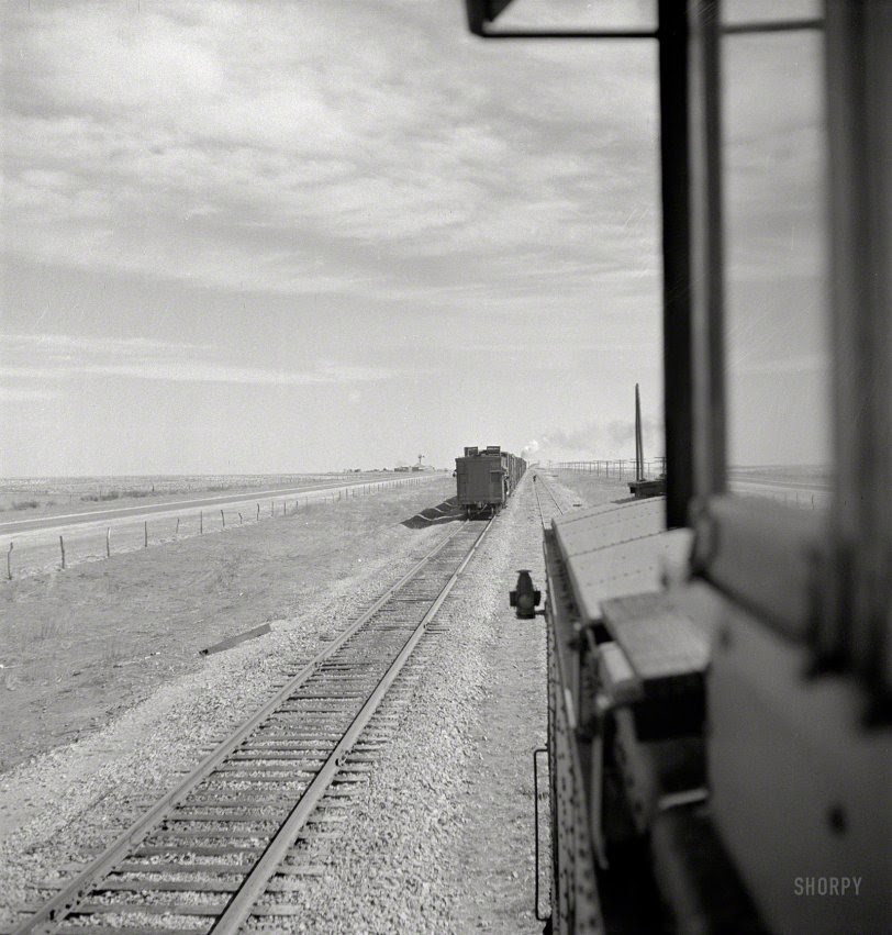 Eastbound Freight: 1943