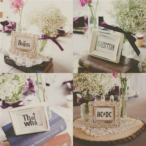 10 unusual table name ideas   Weddings, Wedding and