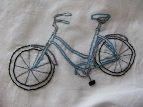 stitched bike