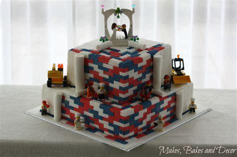 Lego Wedding Cake and my Cake Decorating Essentials