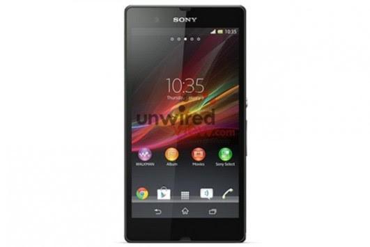 Sony Xperia Z: primo render ufficiale