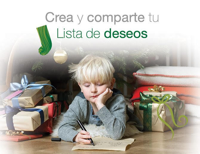 Crea y comparte tu Lista de deseos