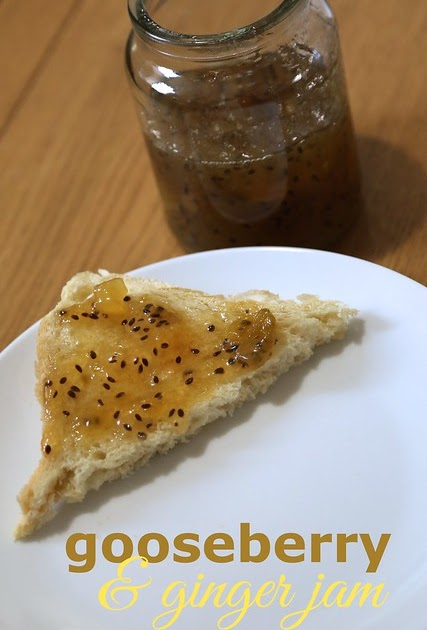 Rachel Cotterill: Gooseberry & Ginger Jam