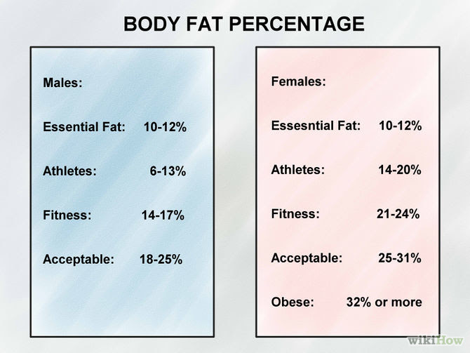 how to estimate body fat percentage at home