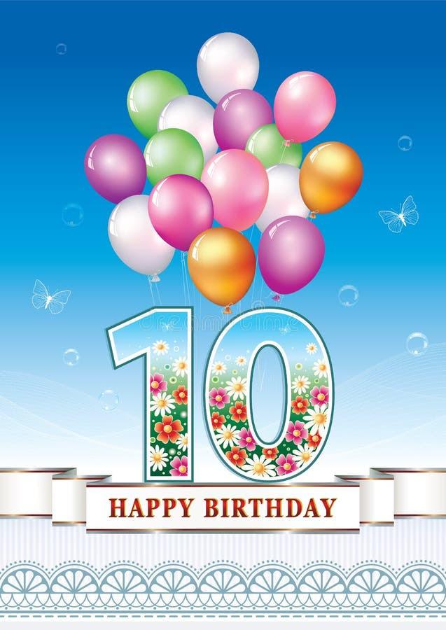 Geburtstagsglückwünsche Zum 10. Geburtstag