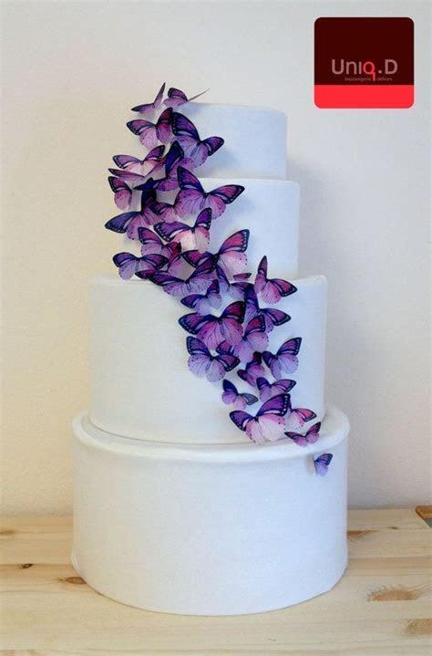 BUY 38 get 6 FREE purple edible butterflies purple by