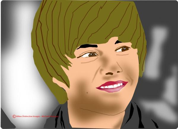 justin bieber pictures to print. Justin Bieber Digital Art