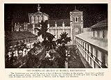 1908 Print Dominican Church Manila Roman Catholic Cathedral Revolutions Spain - Original Halftone Print