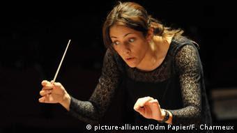 Alondra de la Parra mexikanische Dirigentin. Foto: ©PHOTOPQR/LA DEPECHE DU MIDI/FREDERIC CHARMEUX