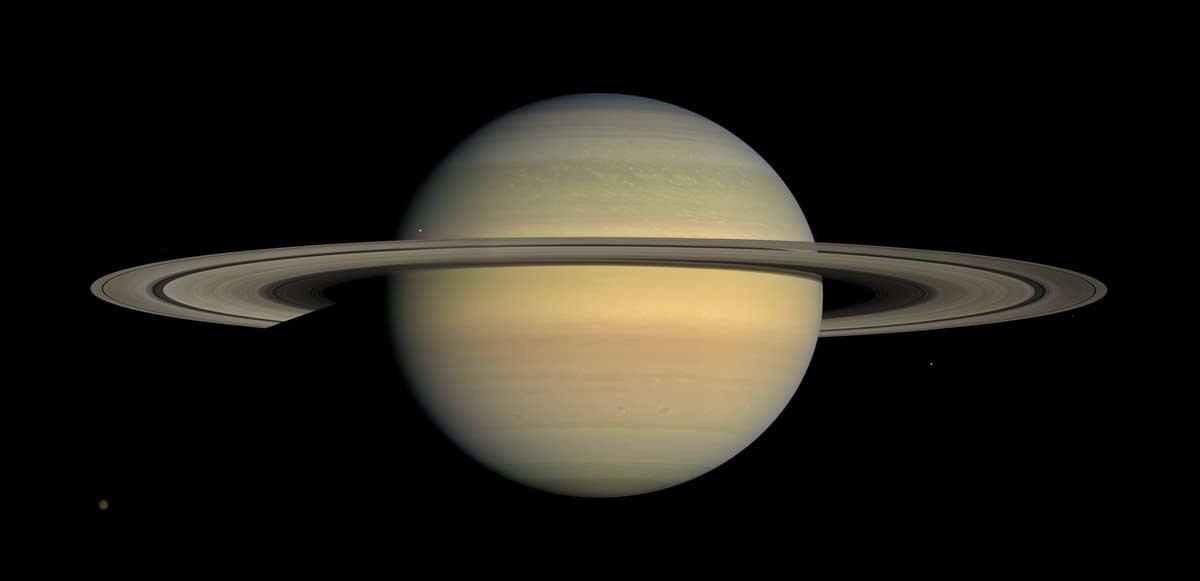 Cassini-Huygens Aneis de Saturno