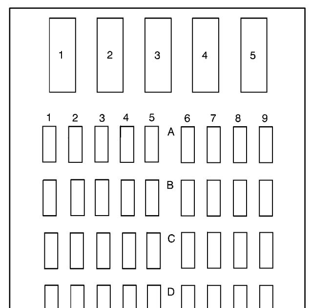 30 2000 Pontiac Bonneville Fuse Box Diagram
