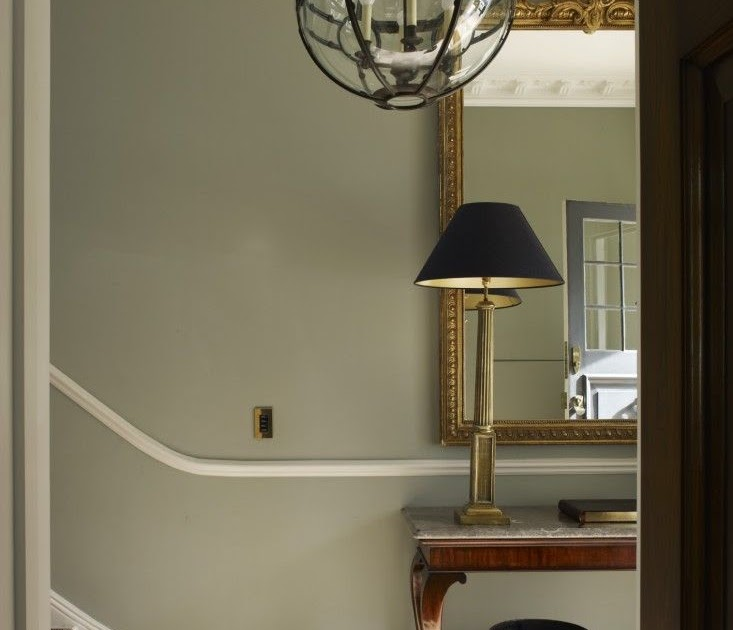 Sage Green Hallway: Modern Country Style: The Best Paint Colours For Small