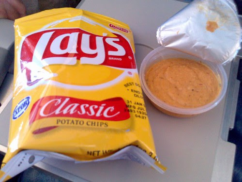 Lay's and Birch & Waite Eastern Sundried Tomato Dip