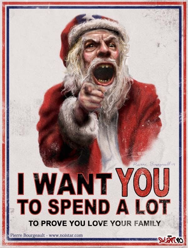 I want you to spend a lot
