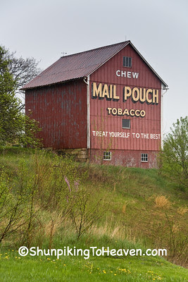 Mail Pouch Tobacco Barn, Belmont County, Ohio