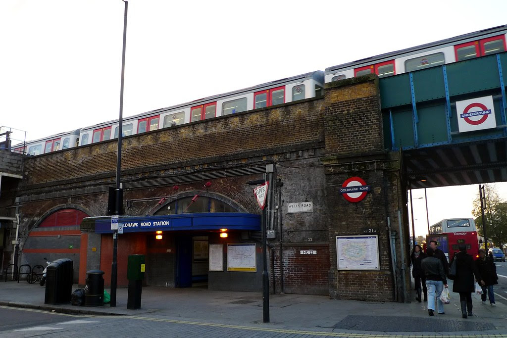 Goldhawk Road Station Lines And Previous Next Stations