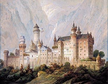 Picture: Ideal design for Neuschwanstein Castle
