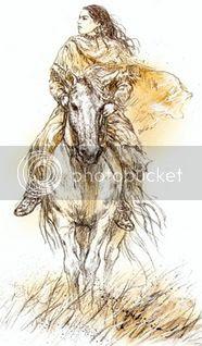 fantasy horse indian