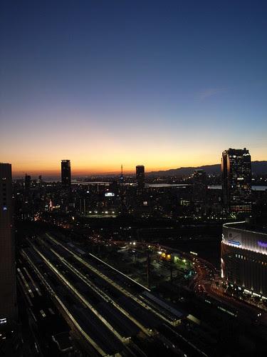 Osaka twilight