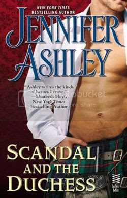 Scandal and the Duchess Cover