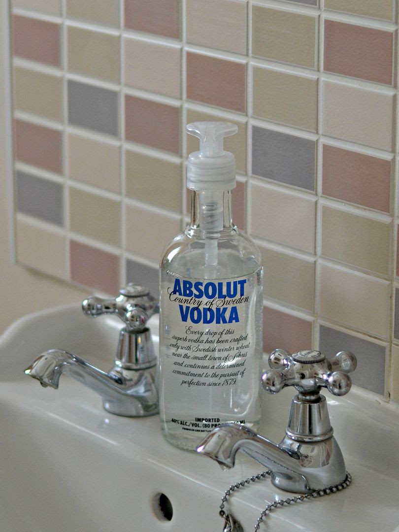 Vodka Bottle Soap Dispenser