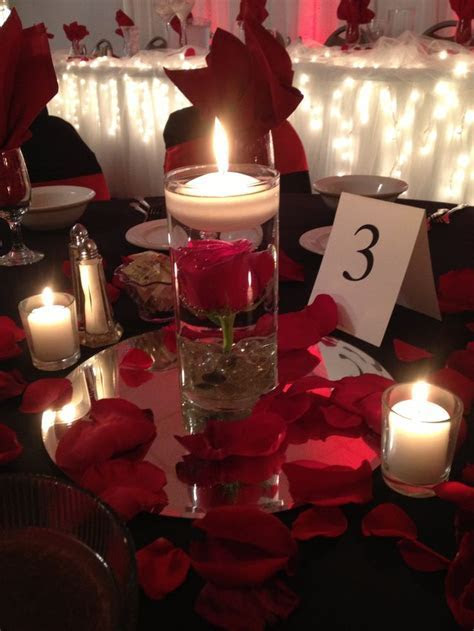 Best 25  Rose centerpieces ideas on Pinterest   Red rose