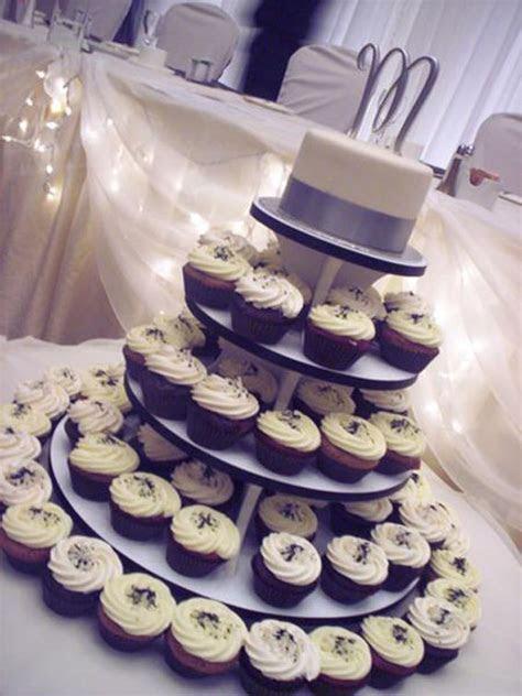 Wedding Cupcakes & Topper Cake   Hey, Cupcake!