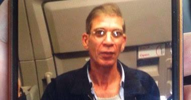 صورة للمتهم بخطف الطائرة المصرية مرتديا حزاما ناسفا