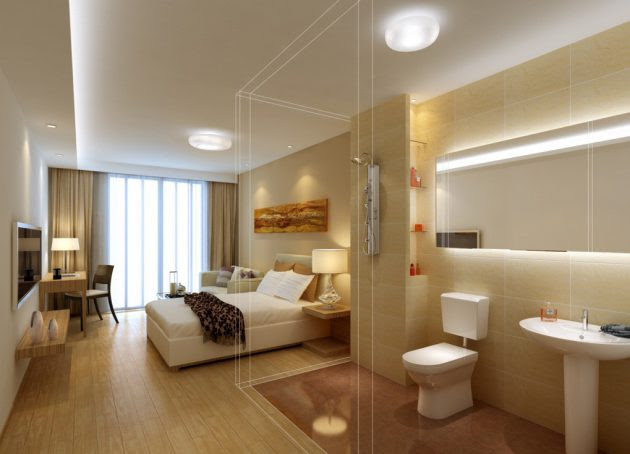19 Outstanding Master Bedroom Designs With Bathroom For ...