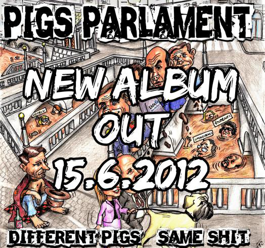 <center>Pigs Parlament release trailer for new album: Different Pigs, Same Shit</center>