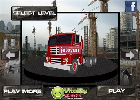kargo kamyonu oyunu oyna araba oyunlari