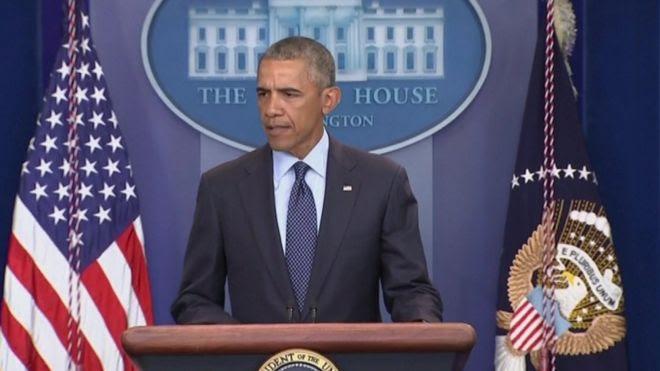 Obama em discurso sobre tiroteio em Orlando