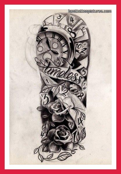 Half Sleeve Tattoo Images Designs
