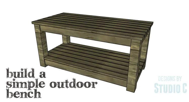 DIY Plans to Build a Simple Outdoor Bench_Copy