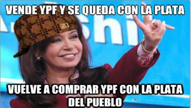 Resultado de imagen para YPF El Gran Fraude K