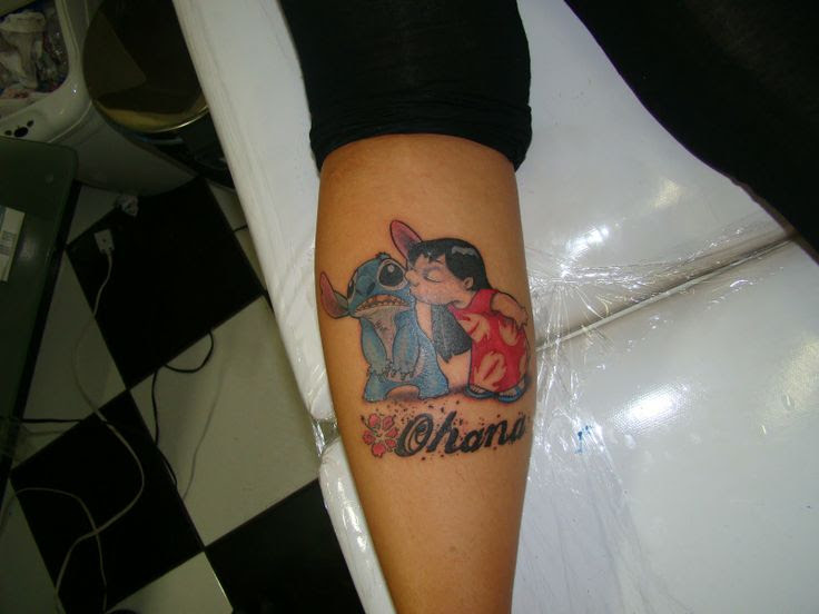 Lilo And Stitch Ohana Tattoo 88033 Loadtve
